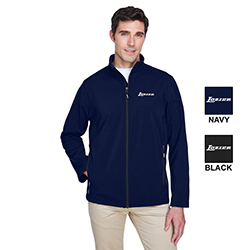 MEN'S FLEECE BONDED SOFT SHELL JACKET