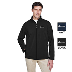 MEN'S TALL FLEECE BONDED SOFT SHELL JACKET