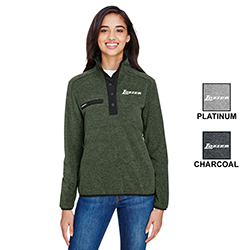 LADIES DRI DUCK ASPEN FLEECE PULLOVER