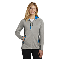 LADIES EDDIE BAUER FULL ZIP FLEECE JACKET
