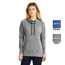LADIES NEW ERA TRI-BLEND PULLOVER HOODIE